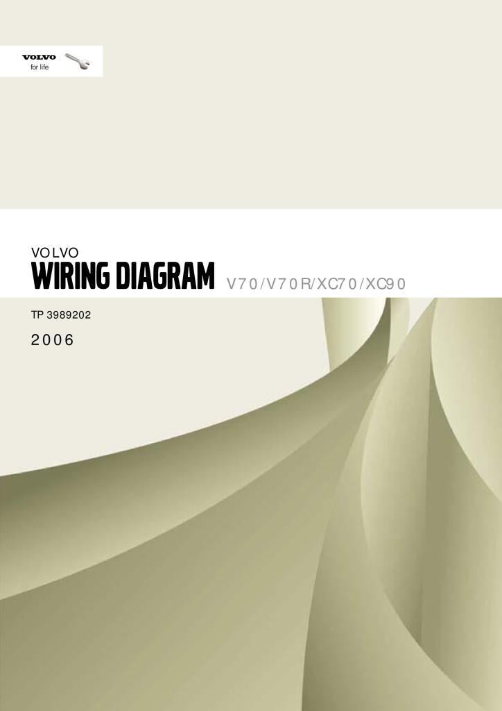 2006 volvo v70 xc70 xc90 wiring diagram service manual.PDF ...